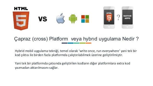 Ionic & Cross Platform Teknolojisi Slide 2