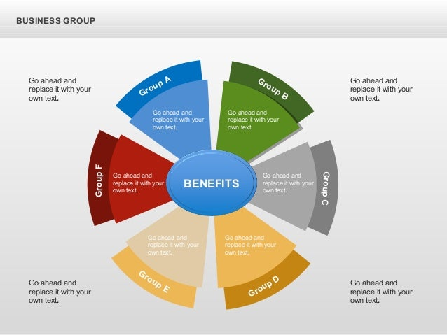 BUSINESS GROUP Group A GroupF Group E Group D GroupC Group B Go ahead and replace it with your own text. Go ahead and repl...
