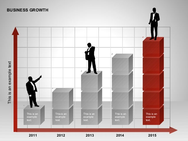 BUSINESS GROWTH This is an example text. This is an example text. This is an example text. This is an example text. This i...