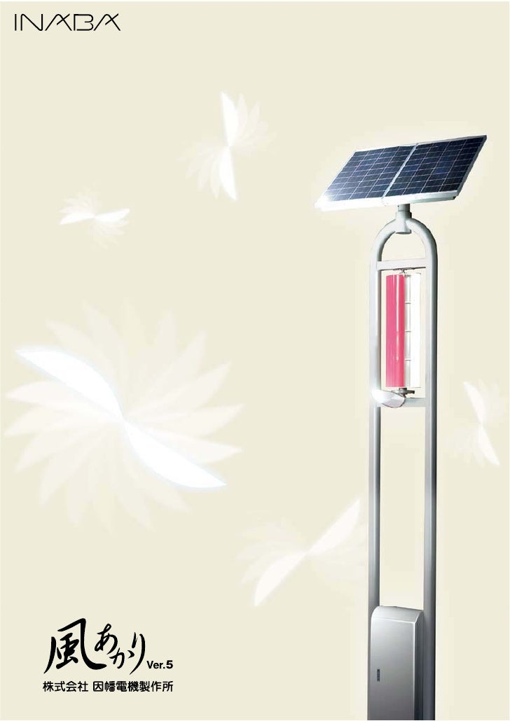We are creating urban security and amenity                                  with the LED lighting and the natural energy.