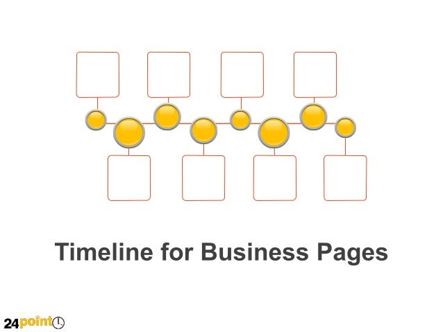 Timeline for Business Pages