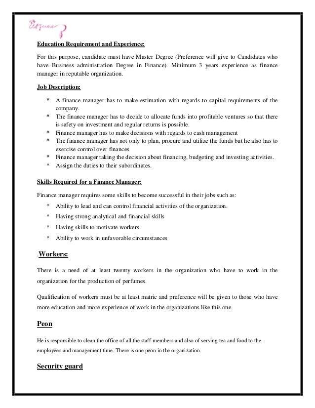 11 - Job Description Of Business Administration