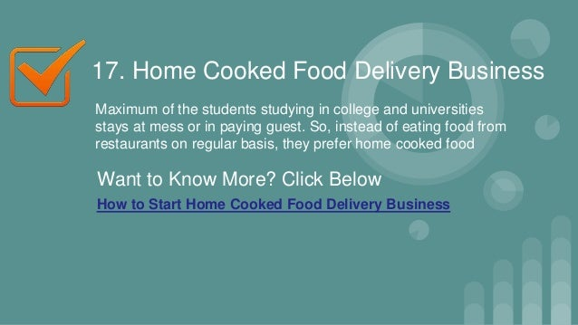 Business 22 17 Home Cooked Food Delivery