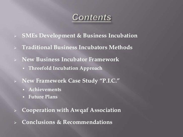 Business incubation islamic framework  yacoutD Slide 2
