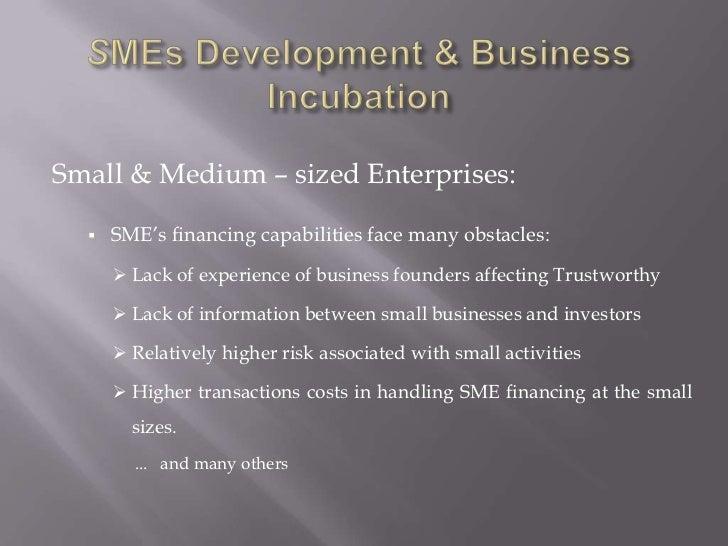 Business incubation islamic framework  yacoutD Slide 3