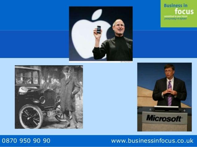 0870 950 90 90 www.businessinfocus.co.uk