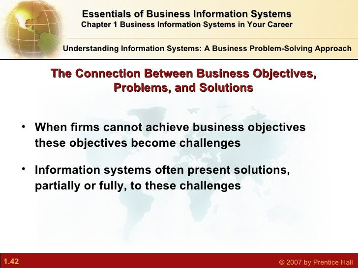 information system business problem dimensions by Systems approach is widely used in problem solving in different contexts researchers in the field of science and technology have used it for quite some time now business problems can also be analyzed and solved using this approach.