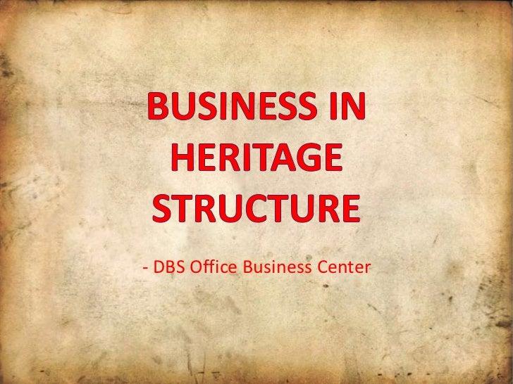 - DBS Office Business Center