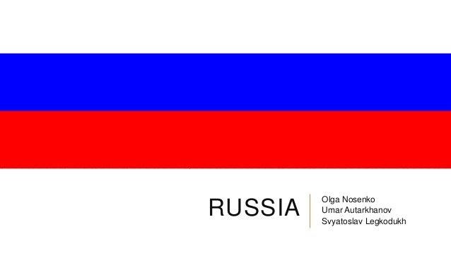 RUSSIA Olga Nosenko Umar Autarkhanov Svyatoslav Legkodukh