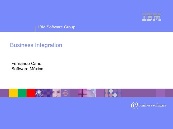 Business Integration Fernando Cano Software México
