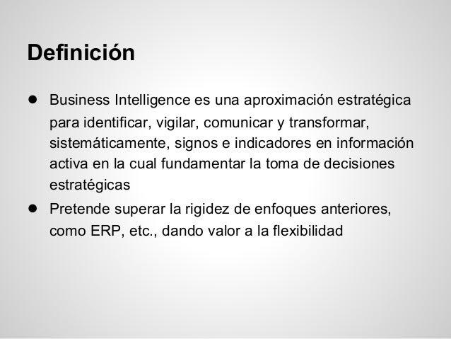Business inteligence Slide 2