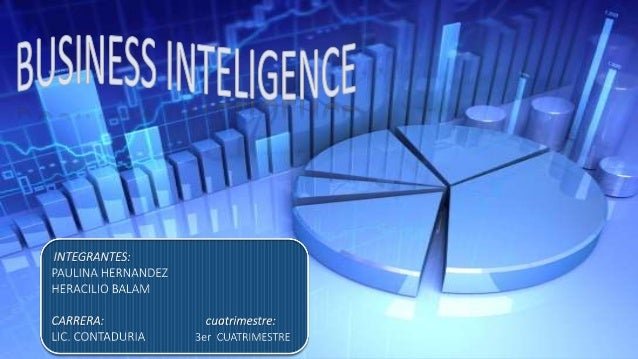 CONTENIDO ° INTRODUCCION ° DEFINICION DE BUSINESS INTELLIGENCE ° CARACTERISTICAS DE BUSINESS INTELLIGENCE ° NIVELES DE REA...
