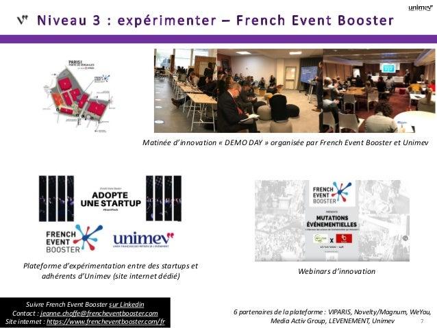7 Réfléchir et identifier des pistes de travail pour tous Matinée d'innovation « DEMO DAY » organisée par French Event Boo...