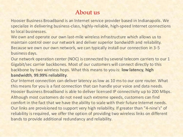 Business internet indianapolis - 웹