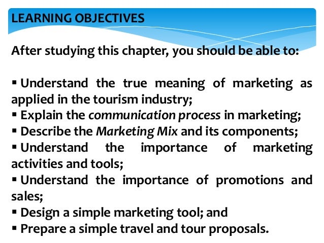 Marketing Promotions Amp Sales In Travel Agency
