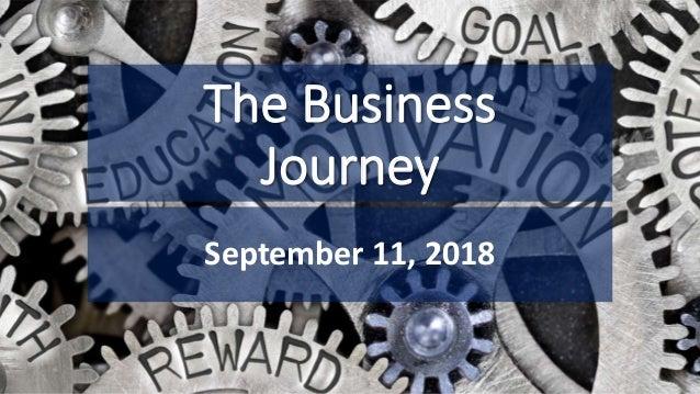 The Business Journey September 11, 2018