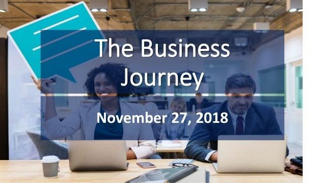 The Business Journey November 27, 2018