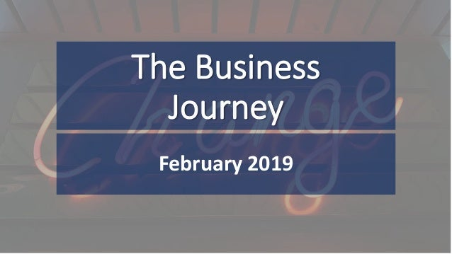 The Business Journey February 2019