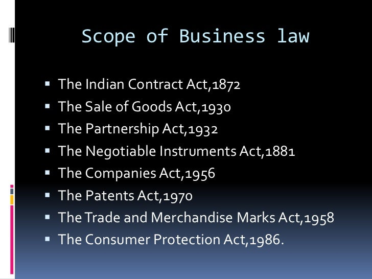 contract and business law For example, if an english company signs a contract for the supply of goods to a company in china, if the contract is written in english the english company may want to have the contract governed by english law and to have any dispute decided by the english courts.