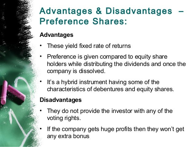 merits of deferred shares