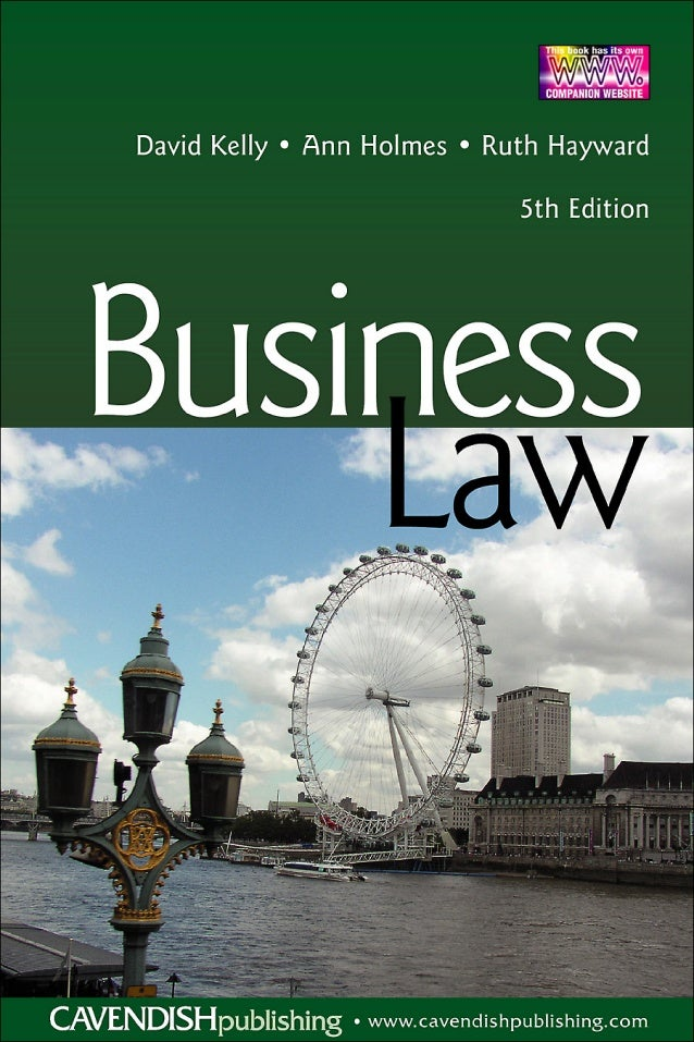 BUSINESS LAW Fifth Edition