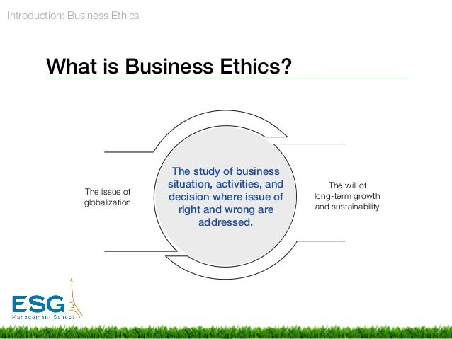 globalization ethical issues business
