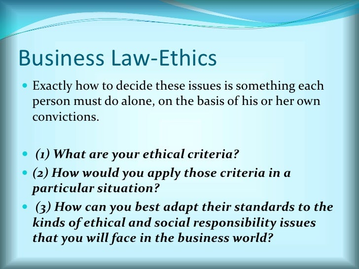 ch 5 business law The clep introductory business law exam covers material that is usually taught in an introductory one-semester college course in the subject.