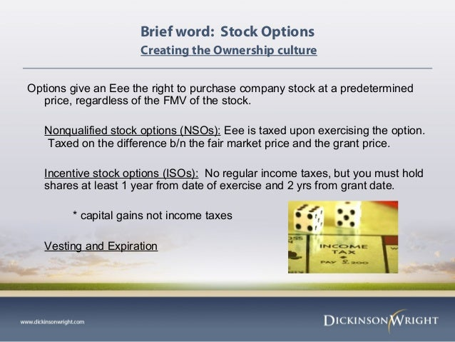 Non qualified stock options expiration date