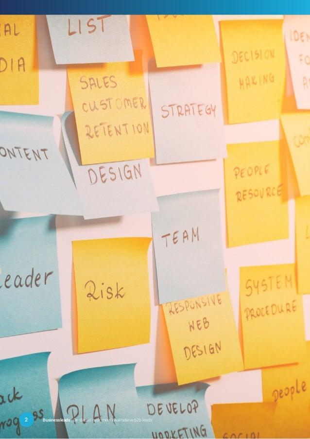 2 Businessleads | De sleutel naar meer kwalitatieve b2b leads