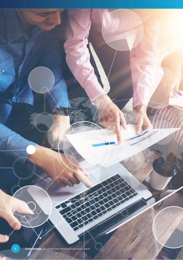 4 Businessleads | De sleutel naar meer kwalitatieve b2b leads