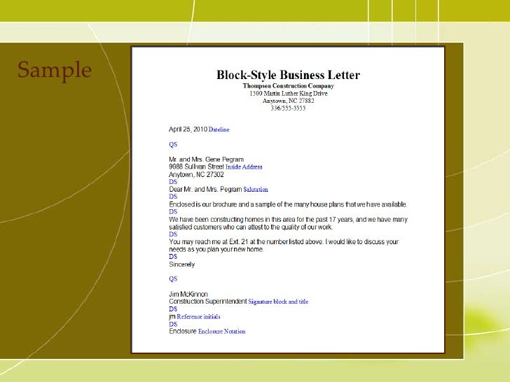 Business letter spiritdancerdesigns Gallery