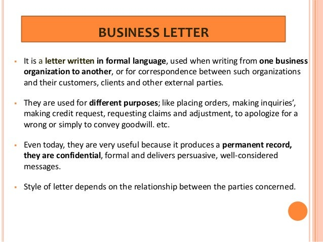 Business Letter Free Business Format In Pdf Business Letter Formats