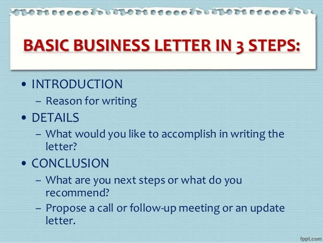 business letter writing  e