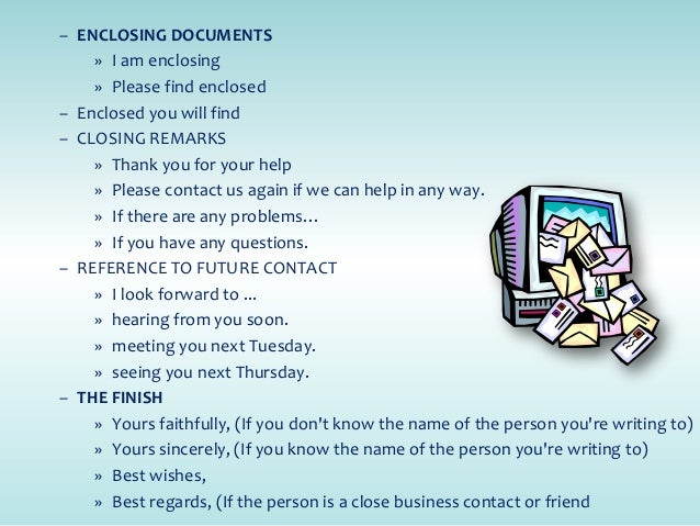 Business Letter Writing EMail Guidelines  Etiquette