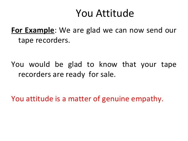 ppt on Business letter – Empathy Letter Sample
