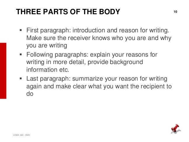 What Is Included In The Body Of A Business Letter from image.slidesharecdn.com