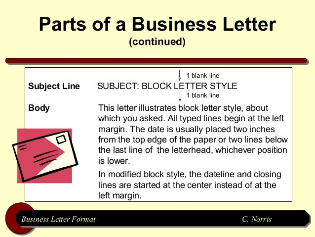 Subject line in business letter divingexperience subject spiritdancerdesigns Images