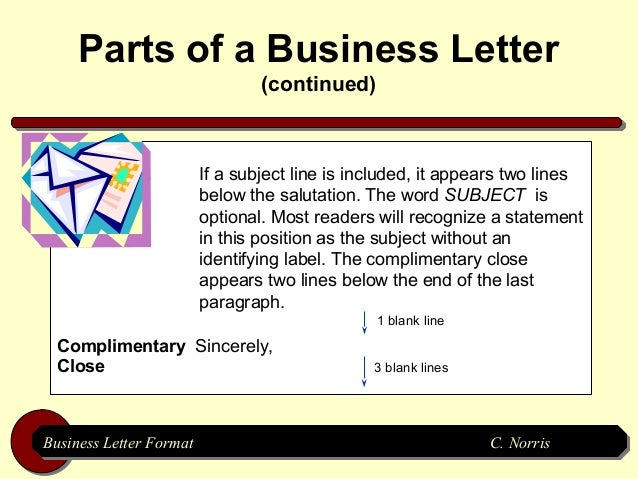 Business letter format business letter formatbusiness letter format c norris c norris 5 spiritdancerdesigns Images