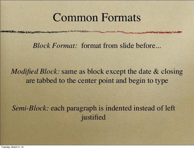 Business letter format 3 common formats spiritdancerdesigns Images