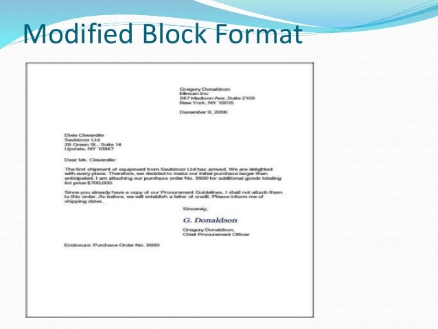 Business Letter Formats Proper Format For Business Letterhead