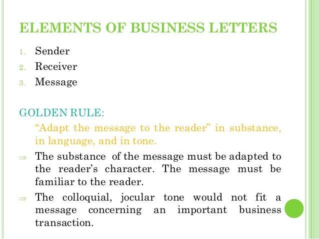 Business letters 18 elements of business letters 1 sender 2 altavistaventures Choice Image