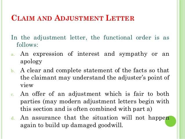 Adjustment letter definition dolapgnetband adjustment letter definition altavistaventures Images