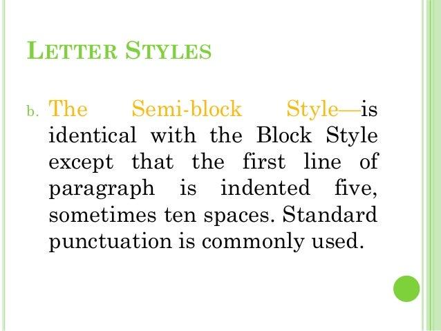standard block style business letter selo l ink co
