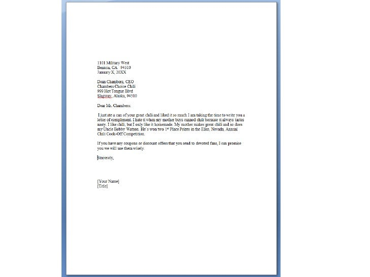 writing business letters - How To End A Business Letter
