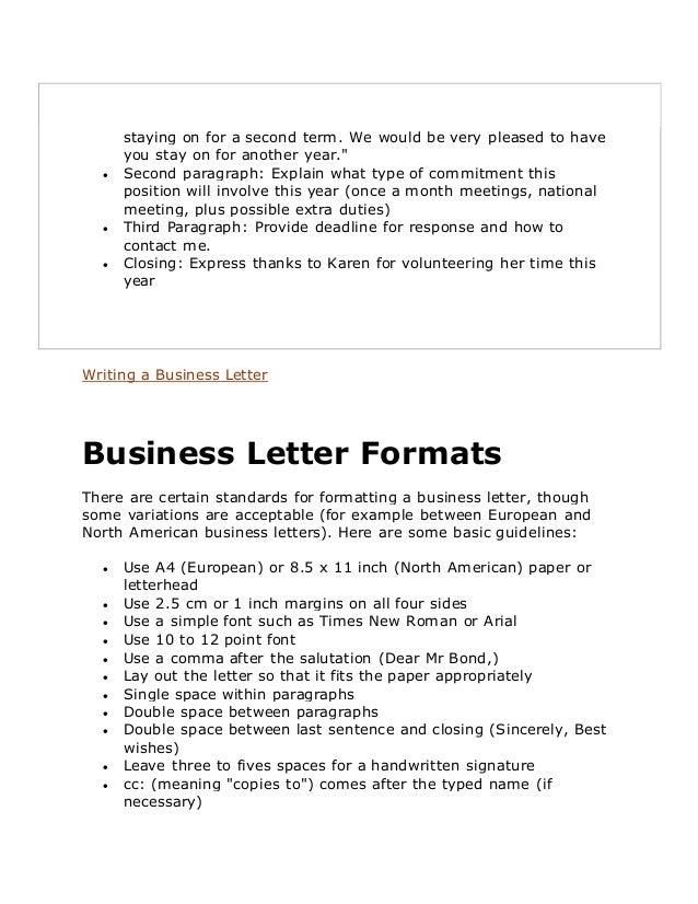 characteristics of business writing