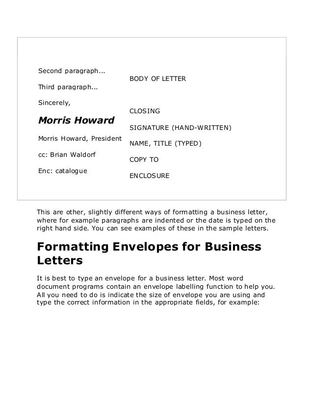 Business letters in english salutation subject 14 spiritdancerdesigns Choice Image