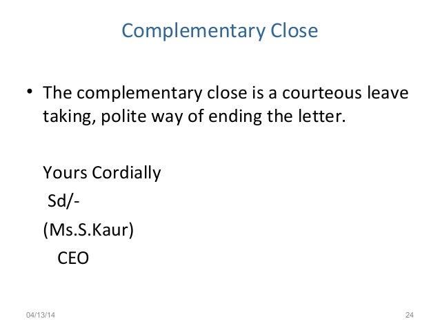 Cordially End Of Letter from image.slidesharecdn.com
