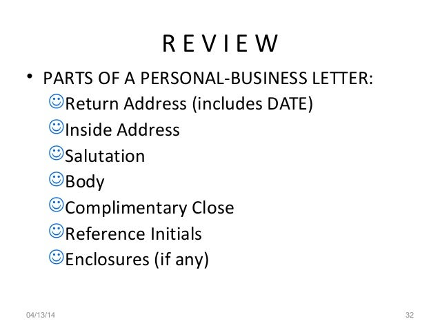 parts of a business letter business letters ksv 23032