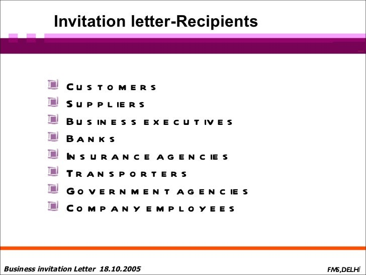 Business Letters Presentation
