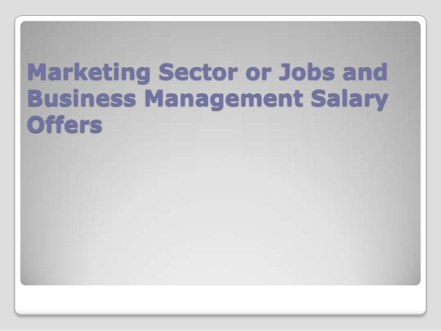 Business Management Degree Salary